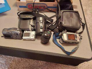 3 Cameras and lens