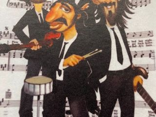 Beatles on Music Sheet
