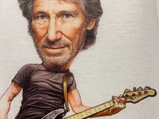 Roger Waters  Caricature