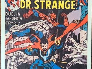 Spiderman and Dr  Strange