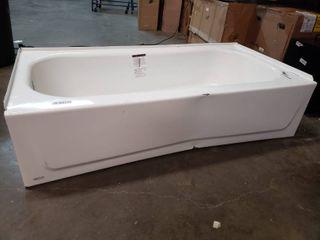5ft l x 30 W x 14 H Bath Tub