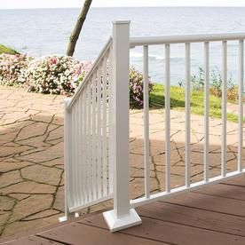 FREEDOM 2 5 in W x 2 5 in l x 39 in H Painted Aluminum Porch Post Kit