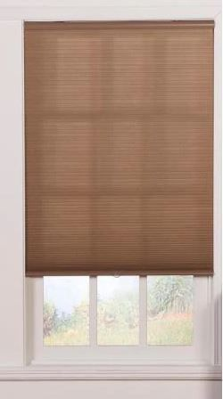 HOME basics Cut to Width White Cord Free Easy lift Spring Action light Filtering Roller Shade 61 5 in  W x 72 in  l
