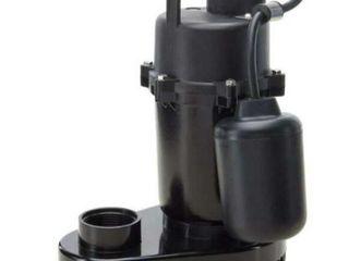 Utilitech 0 33 HPAluminum Submersible Sump Pump