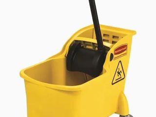 Rubbermaid Mop Bucket Yellow