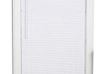 Project Source Cordless White Mini blinds Common  27 in  Actual  26 5 in X 64