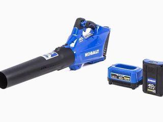 Cobalt 40V 480 CFM 110MPH leaf Blower