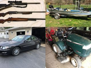 Fishing Boat/Tackle - Auto - Firearms