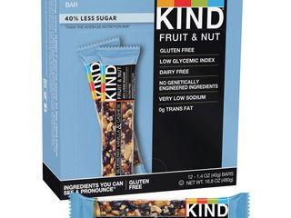 Kind Energy Bars Blueberry Vaniila Cashew  12   1 4 Oz Bars Per Box X 2 boxes   24 Total Bars