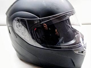 FreedConn BM2 S 953 Bluetooth Motorcycle Helmet   Integrated Modular Flip up Dual Visors  Full Face Helmet w  Built in Intercom Communication   Range 500M FM Radio  X large   Matte Black