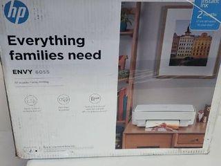HP Envy6055 Printer  Damaged Scanner