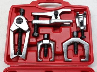 Orion Motor Tech 5 in 1 Ball Joint Separator  Pitman Arm Puller  Tie Rod End Tool Set for Front End Service  Splitter Removal Kit