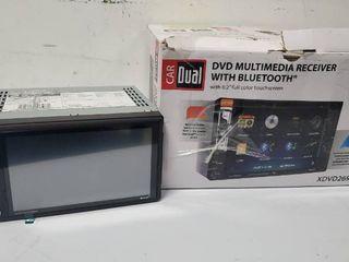 CAR DUAl XDVD269BT DVD MUlTIMEDIA RECEIVER WITH BlUETOOTH