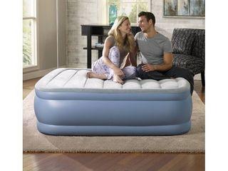 Beautyrest Hi loft Raised Air Mattress with Express Pump  Size Full