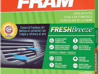 FRAM Fresh Breeze Cabin Air Filter  CF12150 for Ford Truck vehicles