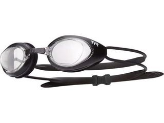 TYR Blackhawk Racing Adult Goggle In Clear Black