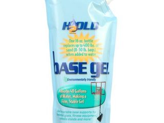 H2Old  BaseGel Basketball Goal Portable Bases Polymer  16 Ounce