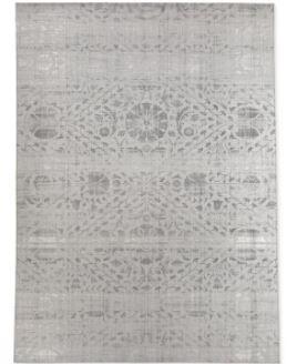 SUZANI DISTRESSED Grey Area Rug by Kavka Designs  Retail 584 99