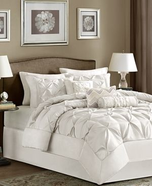 Home Essence Piedmont 7 Piece Tufted King Comforter Set