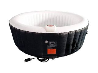 AlEKO Round 265 gallon Inflatable 6 person Hot Tub with Cover  Retail 713 99