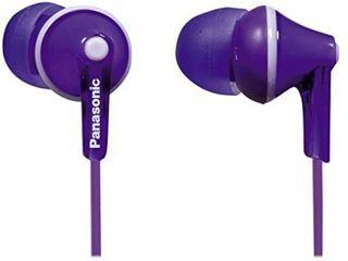 Brand Set Panasonic Rp hje120 Pps In ear Headphones   Purple