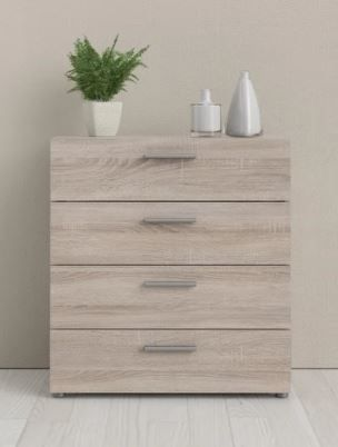 Porch   Den Angus Contemporary 4 drawer Engineered Wood Chest  Retail 129 99