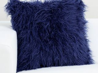 Siscovers Faux Fur Designer llama Throw Pillow