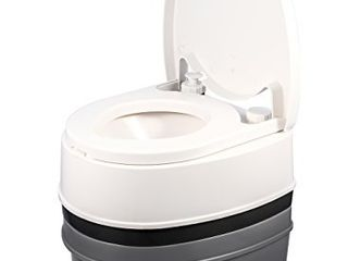 Camco Premium Travel Toilet with Detachable Tank  Excellent Outdoor Toilet Designed for Camping  Hiking and Boating