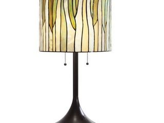 Barossa 25 H Tiffany style Green Table lamp  Retail 146 99