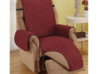 Recliner Furniture Protector   WINE   MOCHA