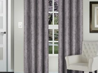 Impressions Slater Blackout Curtain Set with Grommet Header