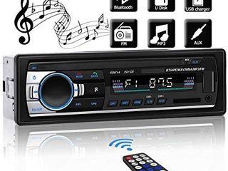Bluetooth Car MP3 Player Stereo In dash 1 Din FM Aux Input Receiver SD USB MMC Car Radio Player 12V