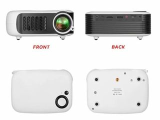 Mini Home Theater Movie Portable Projector 1080P Multimedia Video Projector 2  lCD HDMI USB SD Card laptops 1800 lM  Retail 59 99