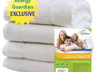 EXClUSIVE Allergy Guardian UlTIMATE Comforter Encasings Retail PRICE  169 99