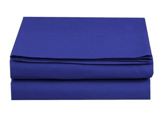 Fitted Sheet     Elegant ComfortAr Wrinkle Free 1500 Thread Count Egyptian Quality 1 Piece Fitted Sheet  King Size  Royal Blue