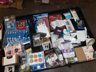 Miscellaneous bag of goodies  Milwaukee metal blade  golf balls and more