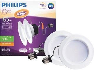 Philips 2pk led Dl 65w Wg Bulb 802389