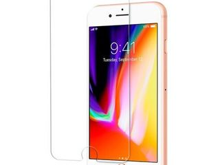 Premium Tempered Glass Screen Protector for Apple iPhone 8 Plus   7 Plus 2 pack