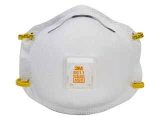 3M 15 Pack Disposable Painting  Sanding and Fiberglass Valved Safety Masks