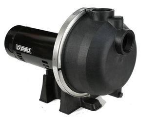 Everbilt 2 HP Plastic lawn Sprinkler Pump  Retails 289