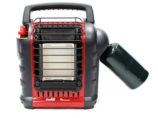 Mr  Heater Buddy Heater 9K BTU Propane Fueled  Red  MH9BX  Retails 72