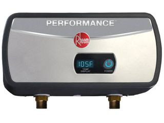 Rheem Performance 3 5 kW 0 68 GPM Point Of Use Tankless Electric Water Heater  Retails 169