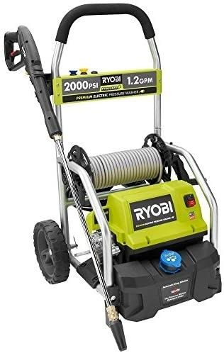 RYOBI RY141900 2 000 PSI 1 2 GPM Electric Pressure Washer  Retails 299