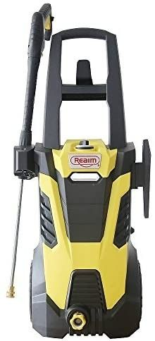 MISSING SPRAY GUN  AND TWO SPRAY TIPS  Realm 2600PSI 1 75GMP Electric Pressure Washer  Retails 210