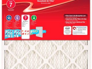 PACK OF 5  Honeywell 20 x 25 x 1 Allergen Plus Pleated FPR 7 Air Filter   RETAIlS 17 61 EACH FIlTER