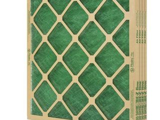 Flanders  4 Filters  20  X 20  X 1  Precisionaire Nested Glass Air Filter