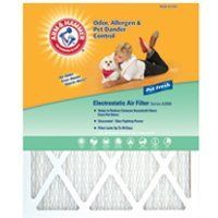 Arm   Hammer   16x25x1 Air Filter  PACK OF 3   RETAIlS 9 99 EACH