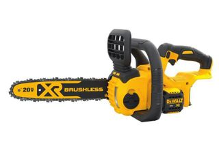 DEWAlT 12 in  20V MAX lithium Ion Cordless Brushless Chainsaw  Tool Only   RETAIlS 179