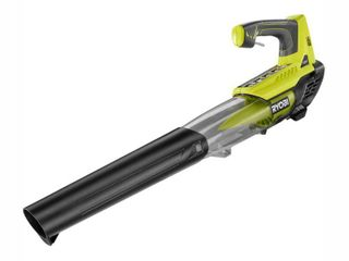 RYOBI 100 MPH 280 CFM ONE  18 Volt Variable Speed lithium Ion Cordless Jet Fan leaf Blower  Tool Only   RETAIlS 99