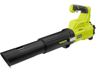 RYOBI 110 MPH 410 CFM ONE  18 Volt Brushless Cordless Variable Speed lithium Ion Jet Fan Blower  Tool Only   RETAIlS 139